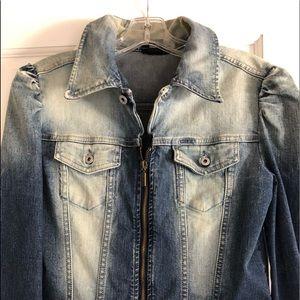 PERFECT! One Owner Designer Diesel Jean Jacket